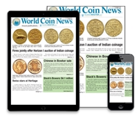 Subscribe to World Coins News!