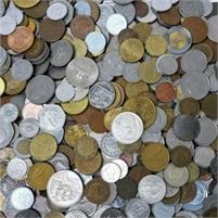 110 DIFFERENT WORLD COINS