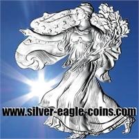 SILVER EAGLES AND WORLD SILVER BULLION