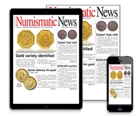 Subscribe to Numismatics News!